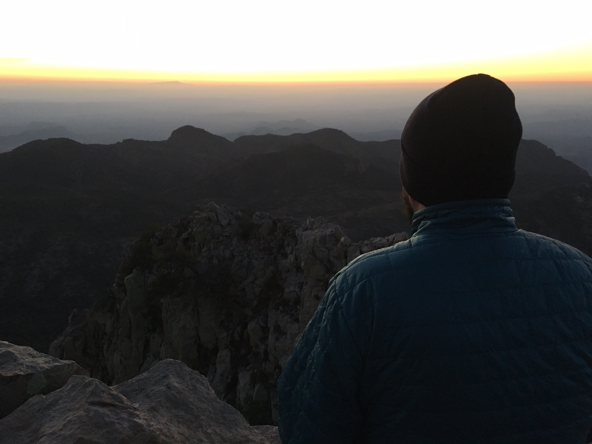 emory peak abe sunset