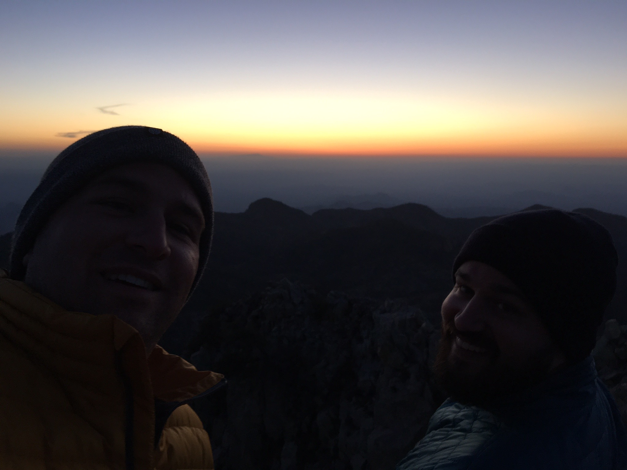 emory peak brothers sunset