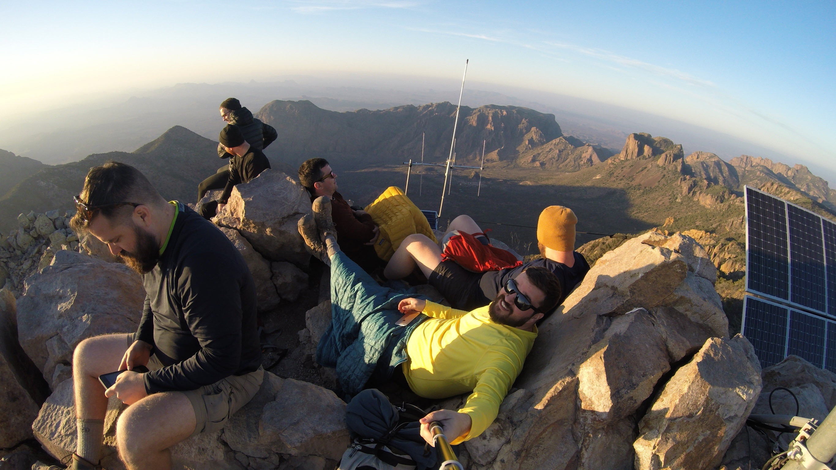 emory peak group chilling