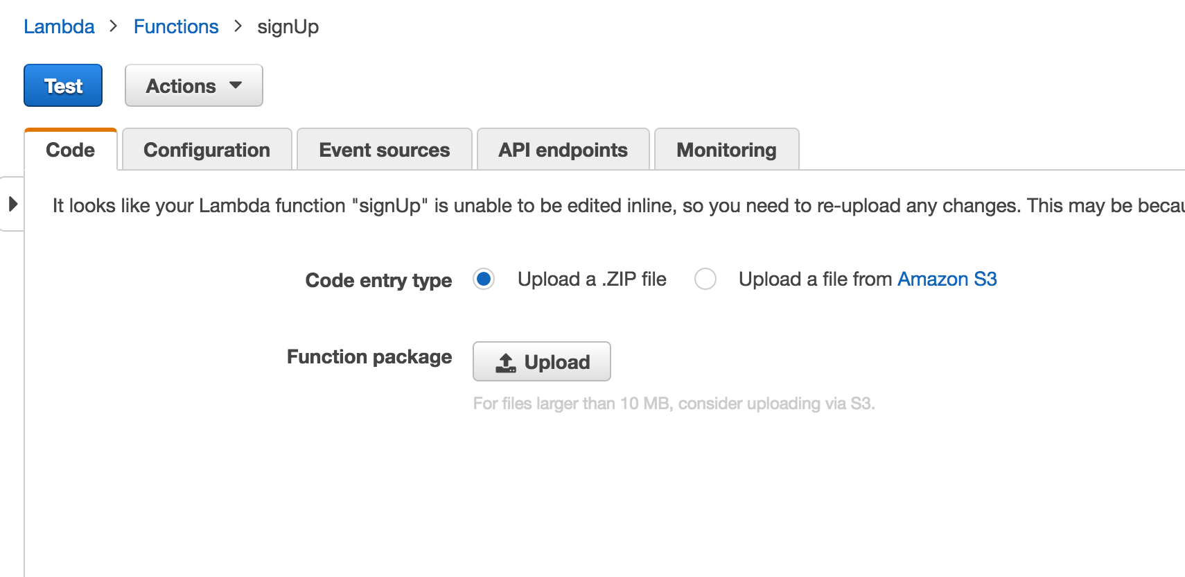 Serverless JSON Web Token Authentication on Amazon Web Services