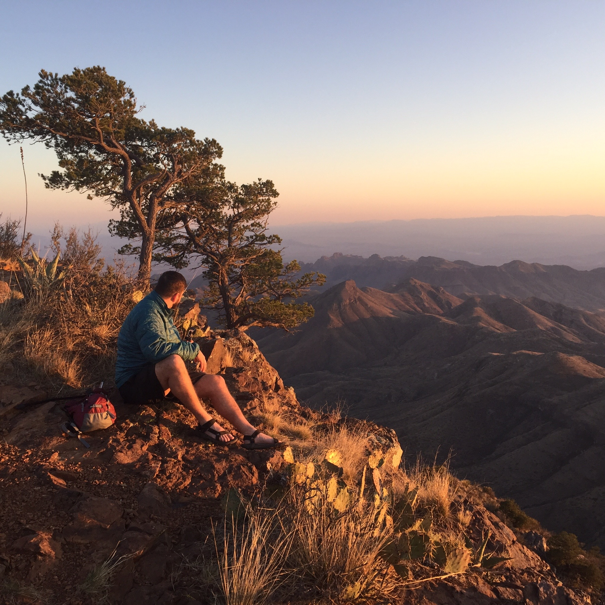 south rim sunset abe